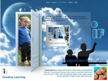 Imagination Facilitations web site design