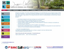 James Linford - Outdoor Learning and Adventure Website Design