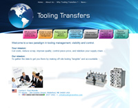 Tooling Transfers USA - Website Design